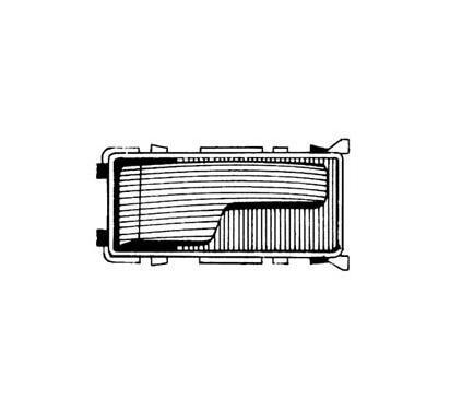60/90 MIRAGLIO Uchwyt drzwi, wyposażenie wnętrza