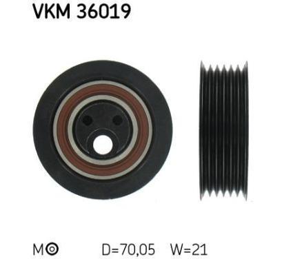 VKM 36019 SKF Rolka napinacza, pasek klinowy wielorowkowy, Micro-v