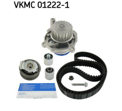 VKMC 01222-1 SKF Pompa wodna + zestaw paska rozrządu