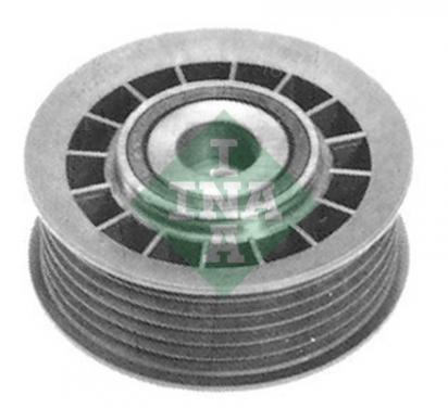 532 0027 10 INA rolka kierunkowa / prowadząca, pasek klinowy zębaty, Micro-v
